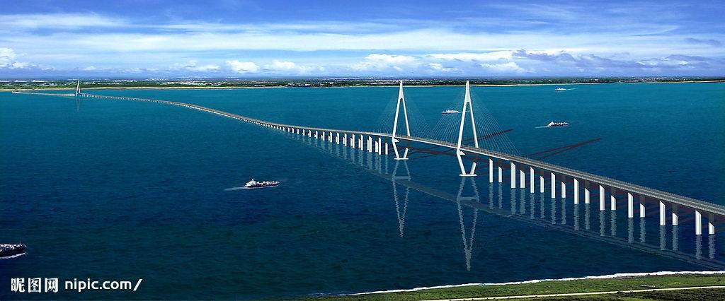 还长11公里,曾保持中国世界纪录协会世界最长的跨海大桥世界纪录,现为