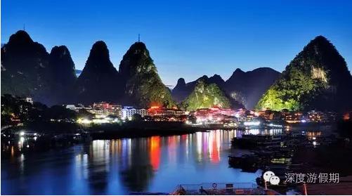 是广西著名风景区